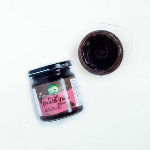 Кокосовый соус шоколадный